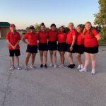 Varsity Girls Golf finishes 2nd place at Denton High School Golf Tournament