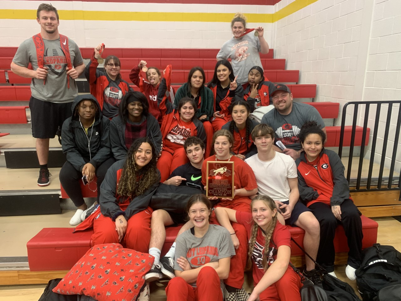 Lady Leopards take 1st Place at S&S