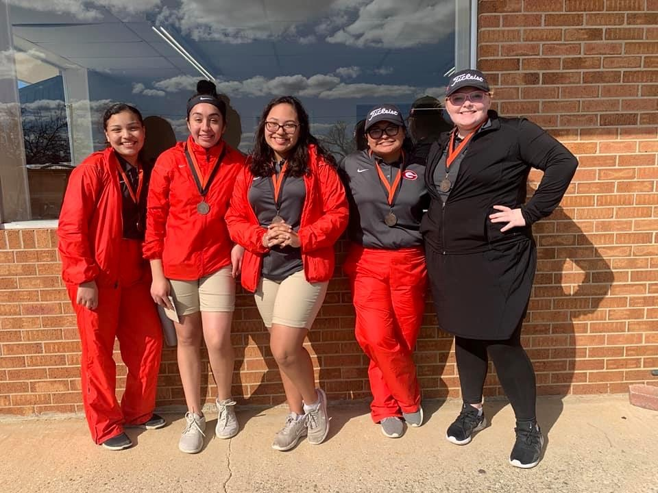 Varsity Girls Golf finishes 3rd place at Pilot Point Bearcat Invitational