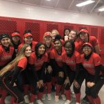 Varsity Softball run rules Wichita Falls Hirschi 18-1