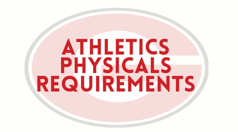 Gainesville Athletics 20-21 Physical Requirements
