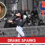 Sparks continues his baseball career
