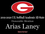 2019-2020 UIL Softball Academic All-State Recognition