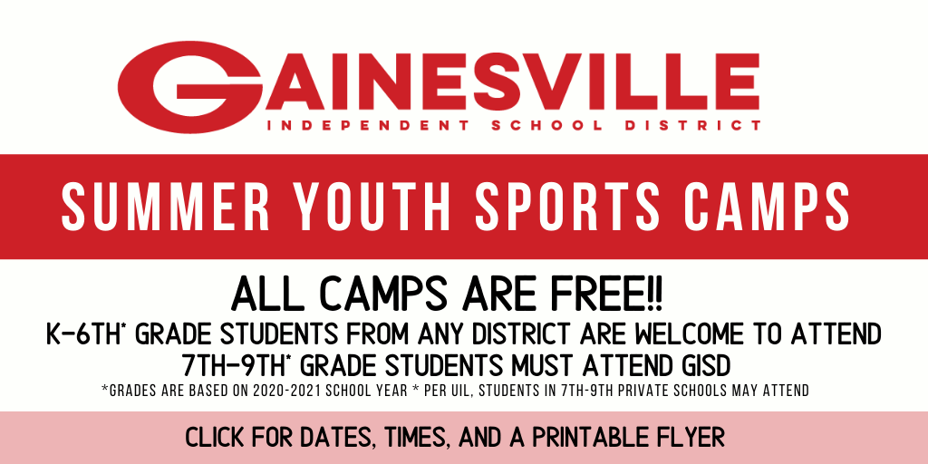 2020 Youth Summer Camps