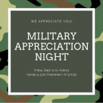 Volleyball Military Appreciation Night