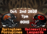 Springtown Football Games Moved to Next Week