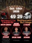 Recap: Varsity Football vs. Burkburnett 2020