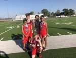 GJH 7th grade Cross Country competes at district