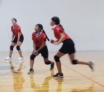 7th B Volleyball beats Krum Middle School 2 – 0