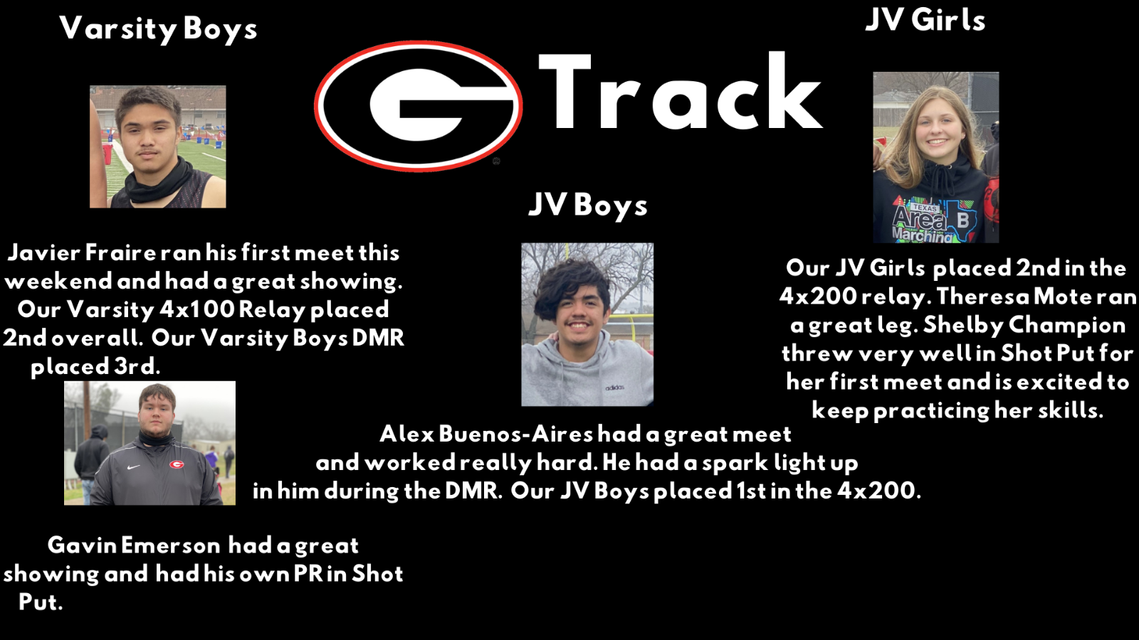 GHS Track at Castleberry