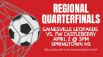 Boys Soccer Regional Quarterfinals