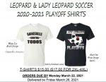 Soccer Playoff Shirts