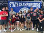 Great Finish @ State for Lady Leopards Powerlifting