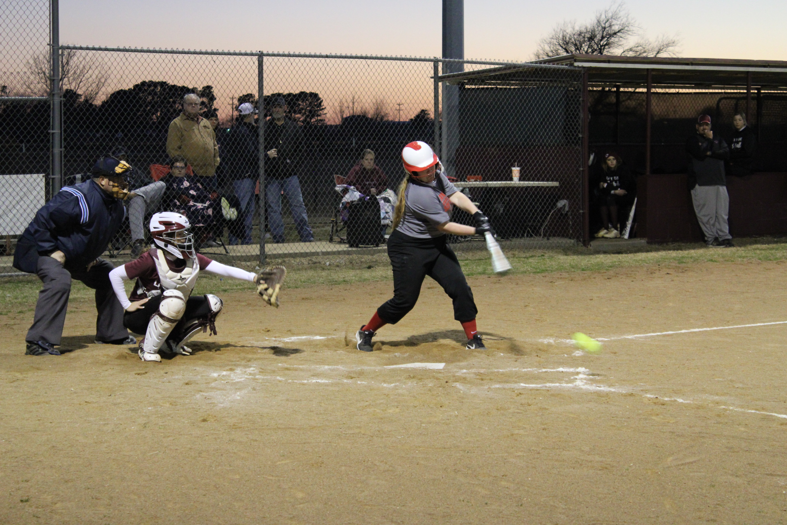 Softball @ Callisburg Scrimmage Photos