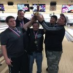 The CRHS Boys Varsity bowling team took 1st at Districts