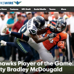 Congratulations to former Dublin Scioto standout; current NFL star Bradley McDougald!