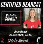 Natalie Stewart – College Announcement
