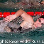 Northridge High School Girls Varsity Swimming beat Pilgrims 149-37