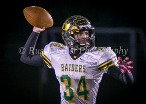 Raiders Win Schools 1st Football Sectional Title