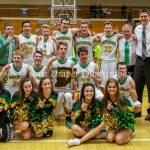 Northridge High School Boys Varsity Basketball beat Memorial High School 48-45