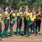 Northridge High School Varsity Softball beat Goshen High School 11-1