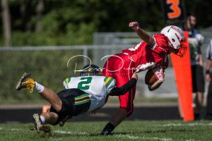 JV Football vs Plymouth 9-9-17