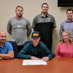 Trick signs to play baseball at Spring Arbor