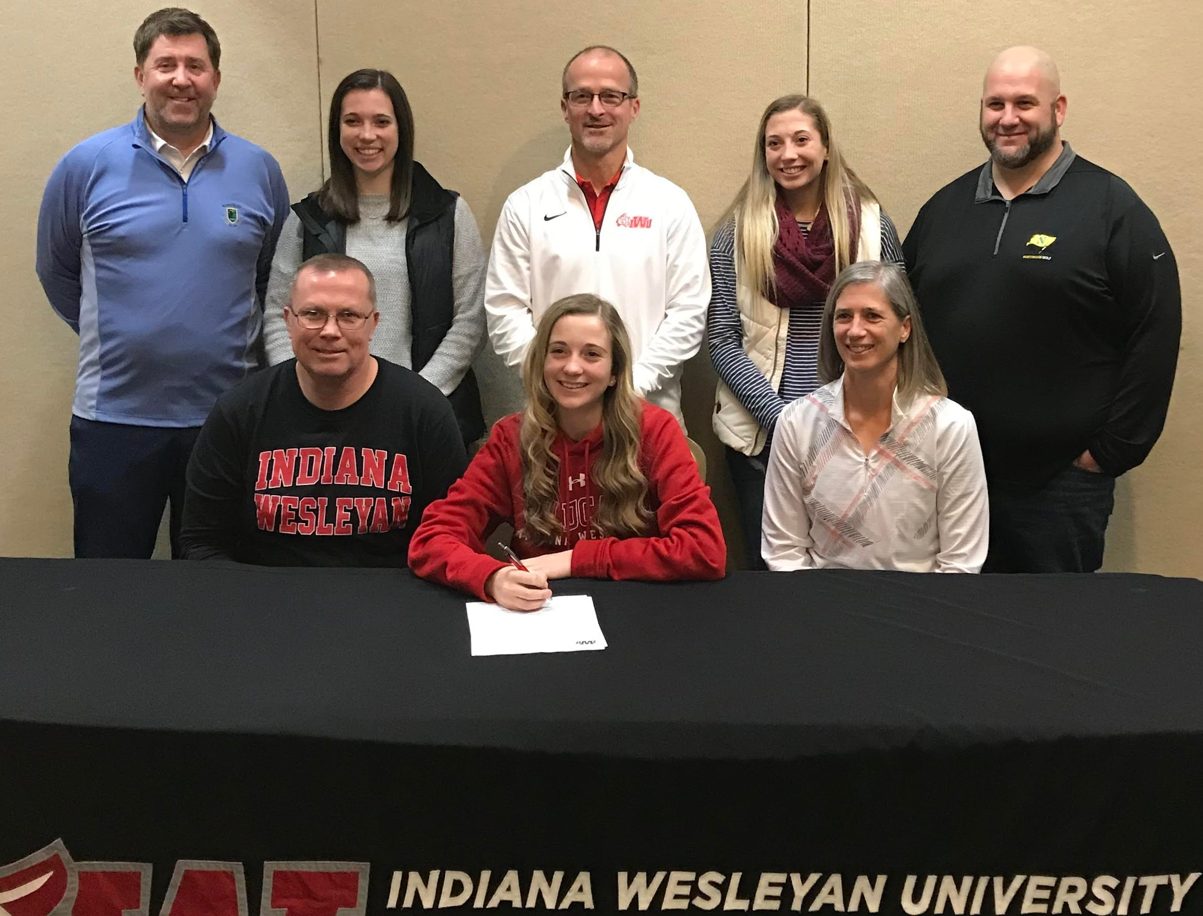 O'Dell signs with IWU for golf