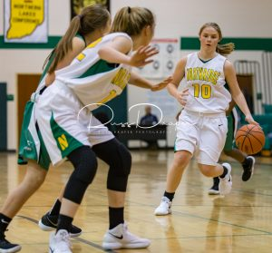 Freshman Girls BB vs Concord 11-27-17