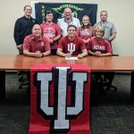 Graber signs to wrestle at Indiana