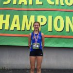 Rowley Finishes 9th at State Cross Country Championships