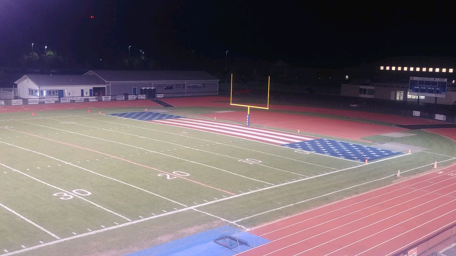 Western Reserve High School honored for work on athletic fields