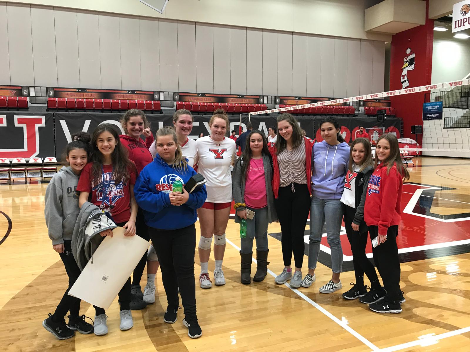 Junior High Volleyball at YSU