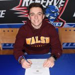 Todd Henning signs with Walsh University