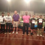 Future Patriots visit TJ Football Game (Middle School Night) and Take the Pledge To Stop Domestic Violence