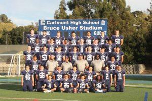 Varsity Football Team Picture
