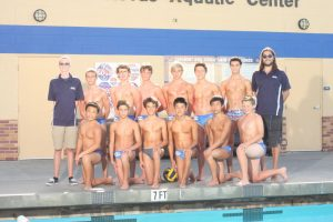 JV Boys Water Polo Team Pictures