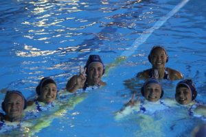 Girls Water Polo Action Shots