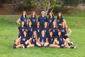 JV Volleyball Team Photo