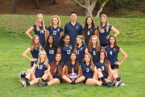 Frosh Girls Volleyball Team Photo