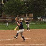 Carlmont High School Junior Varsity Softball beat Notre Dame High School 10-0