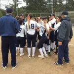 Carlmont High School Varsity Softball beat Notre Dame High School 3-2