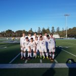 Carlmont High School Boys Varsity Soccer beat Woodside High School 3-0