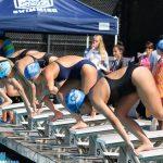 Carlmont High School Girls Varsity Swimming beat Hillsdale High School 135-20