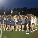 Carlmont High School Girls Varsity Lacrosse beat Notre Dame, Belmont High School 18-1