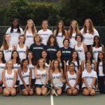 2017 Girls Varsity Tennis Team