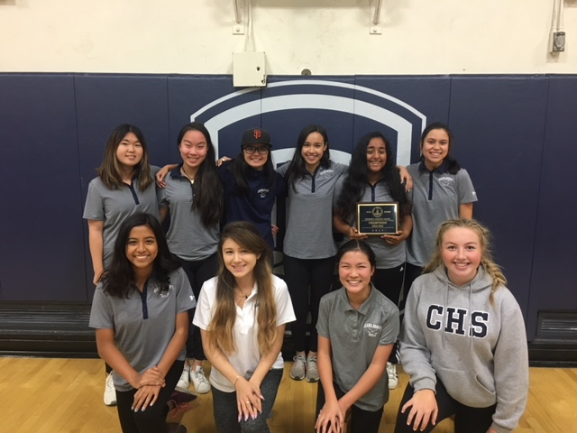 Carlmont Girls Golf Team – PAL Champions