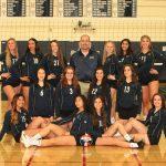 Varsity Girls Volleyball Team Photo - 2018