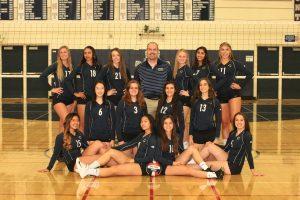 Varsity Girls Volleyball Team Photo – 2018