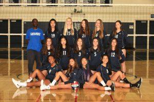 JV Girls Volleyball Team Photo – 2018